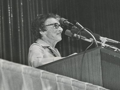 Ida Klaus, Board Member from 1976 until 1984.