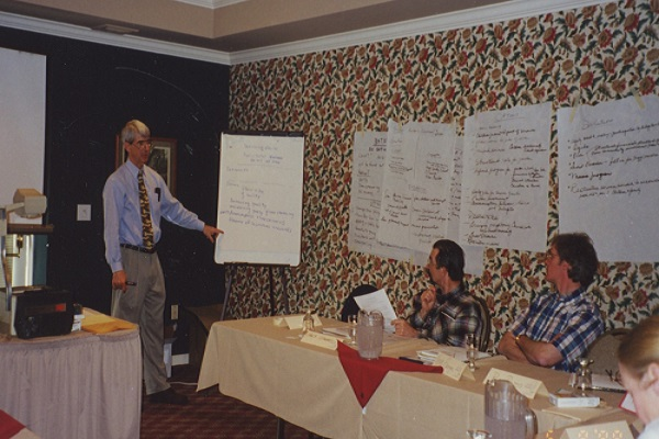 A mediation training session. 1998.